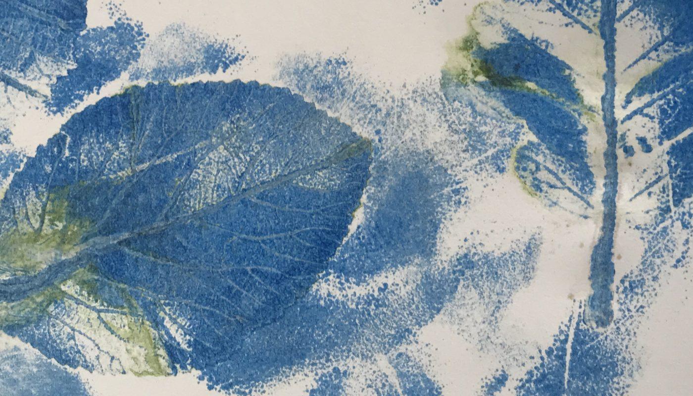 Materialdruck und Lithographie