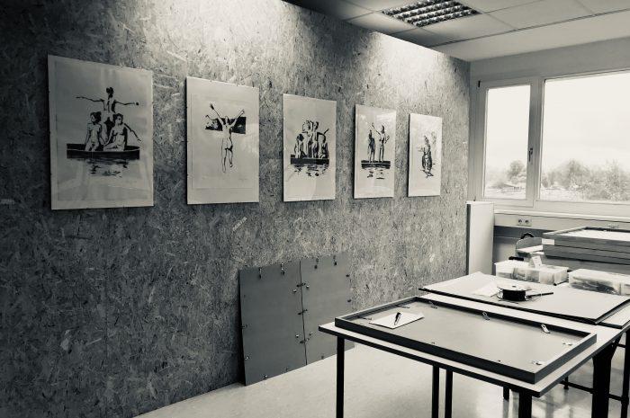 Ab 29.11.2019, 18 Uhr, Ausstellung: Lithographie von Lutz Bolldorf,