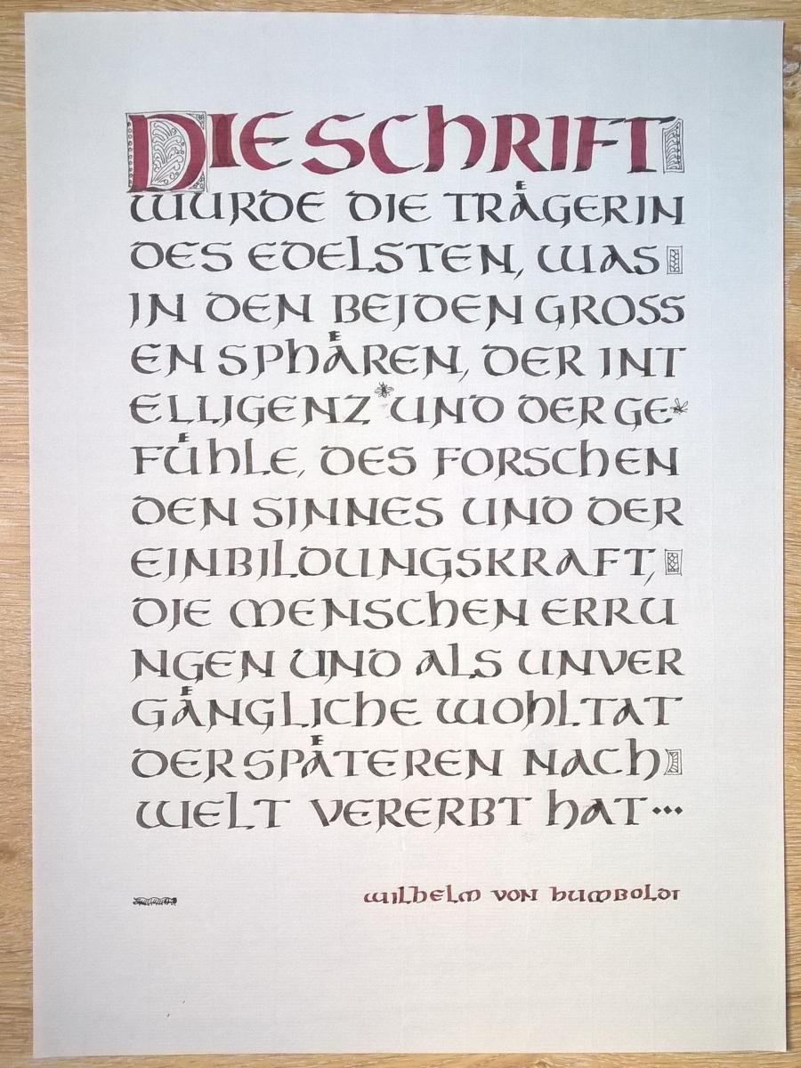 Schrift-Humboldt
