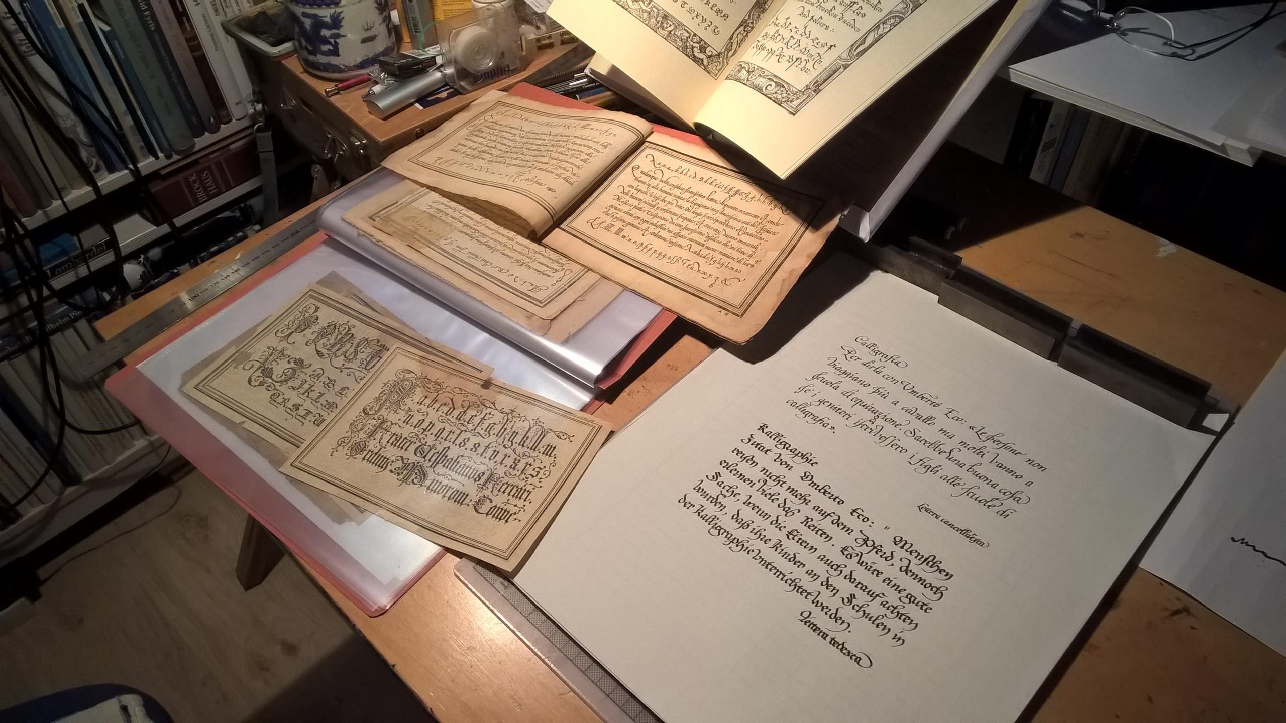 Kalligraphie-Werkstatt